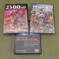 Classic GDW RPGs on CD-ROM: Traveller, Twilight 2000, 2300AD, Dark Conspiracy, and more