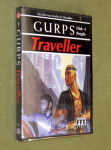 GURPS Traveller Disk 1 - People CD-ROM