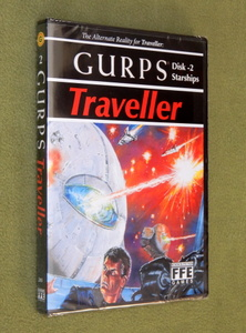 GURPS Traveller Disk 2 - Starships CD-ROM