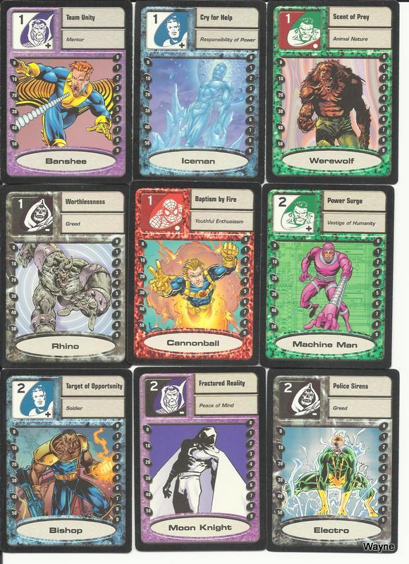 MSH Saga cards 1