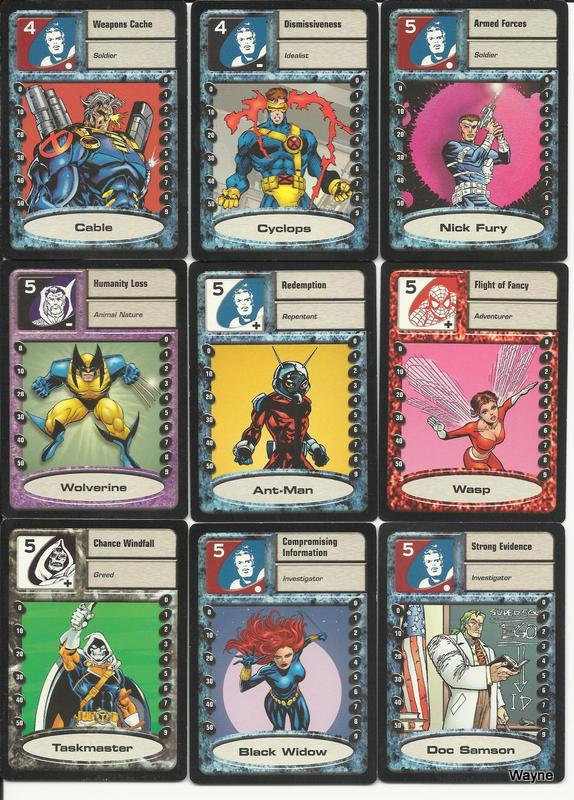 MSH Saga cards 5