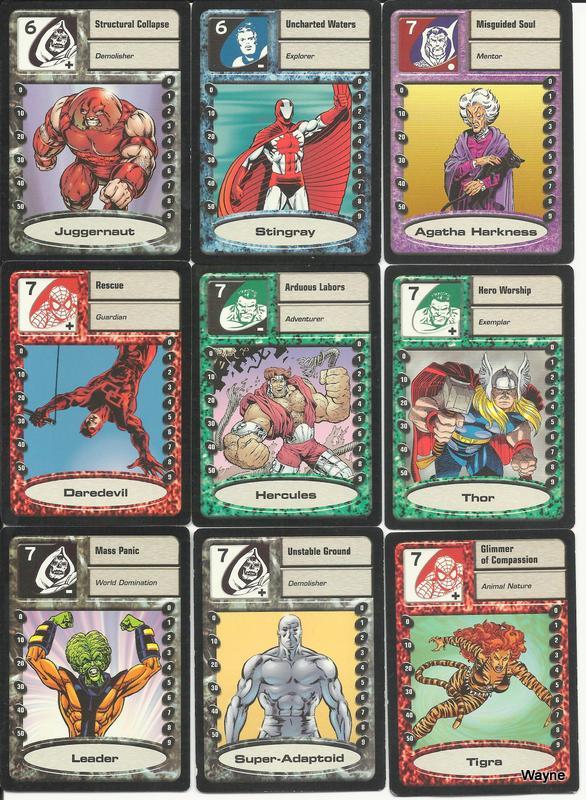 MSH Saga cards 9