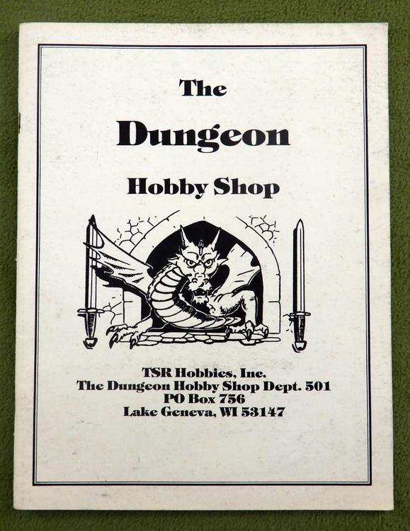 1982 Dungeon Hobby Shop Catalog