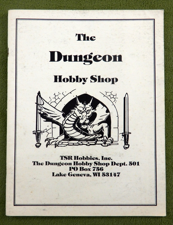 1982 Dungeon Hobby Shop Catalog
