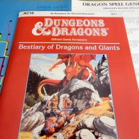 D&D Bestiary of Dragons and Giants (AC10): More Than Meets The Eye (1987)