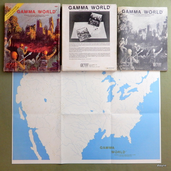 Gamma World 1st 3rd box set 93