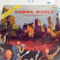 GAMMA WORLD 1st ed (1978-82): The Original Post-Apoc RPG