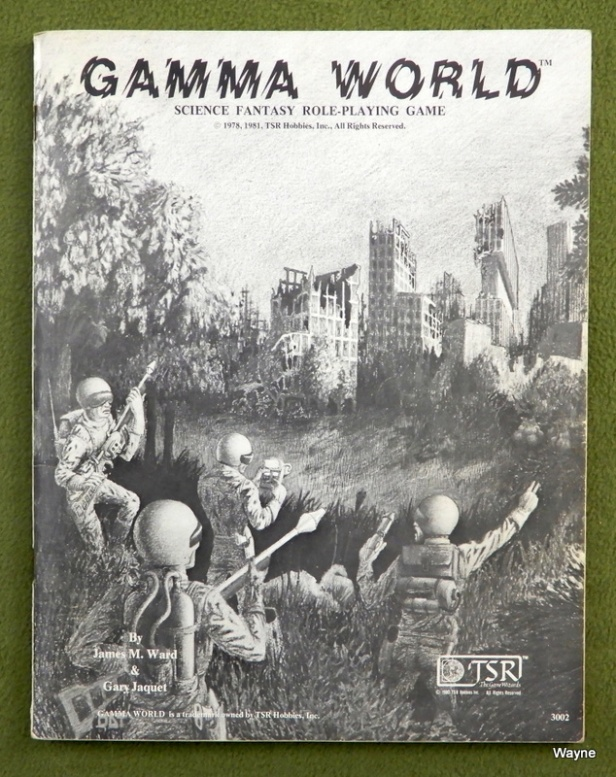 Gamma World 1st rulebook