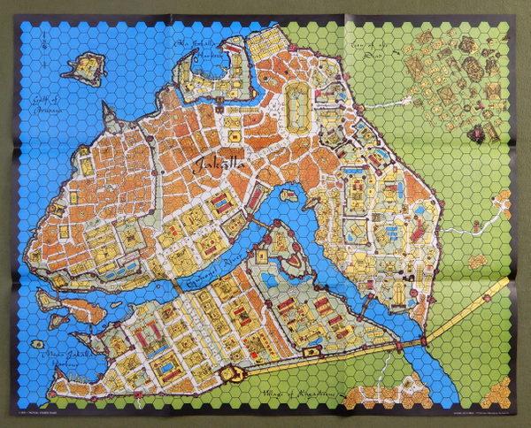 Jakalla map