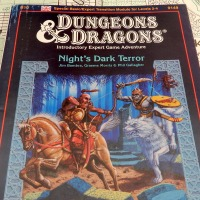 Night's Dark Terror (B10): TSR UK expands D&D's Known World (1986)