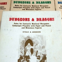Original D&D: Where It All Started (The 1975 White Box in photos)