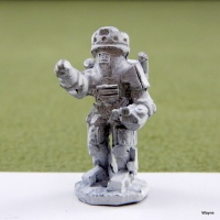 Gamma World metal miniatures by Grenadier (1979)