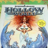 HOLLOW WORLD: A D&D Pulp Fantasy Campaign Setting (1990)