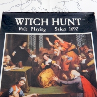 WITCH HUNT (1983): Role Playing Salem 1692 - Old School RPG Obscurity