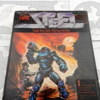 LIVING STEEL (1987): Sci-Fi RPG setting using Realistic (Crunchy) Phoenix Command Combat Rules