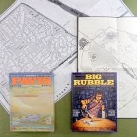 PAVIS & BIG RUBBLE (1983): Basecamp and Vast  City Ruins for Runequest RPG